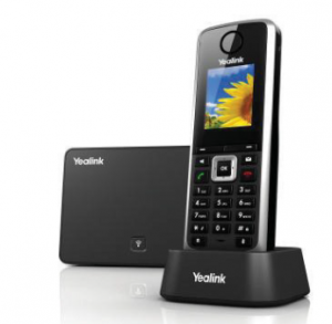 yealink cordless handset for cloud hosted VoIP