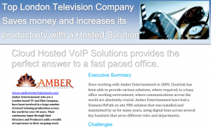 Moving to cloud hosted VoIP