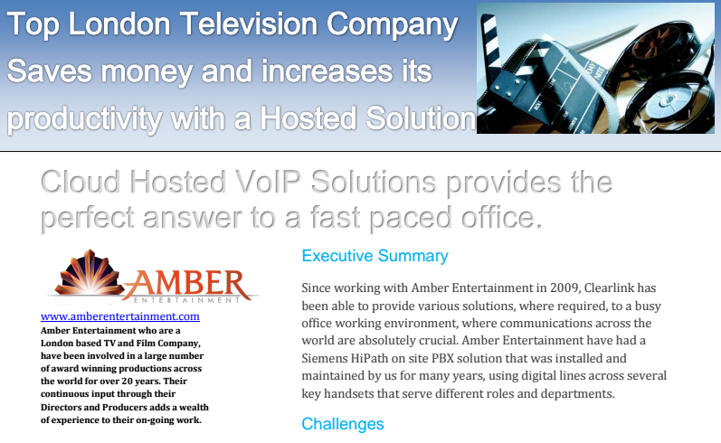 Moving to VoIP Case Study