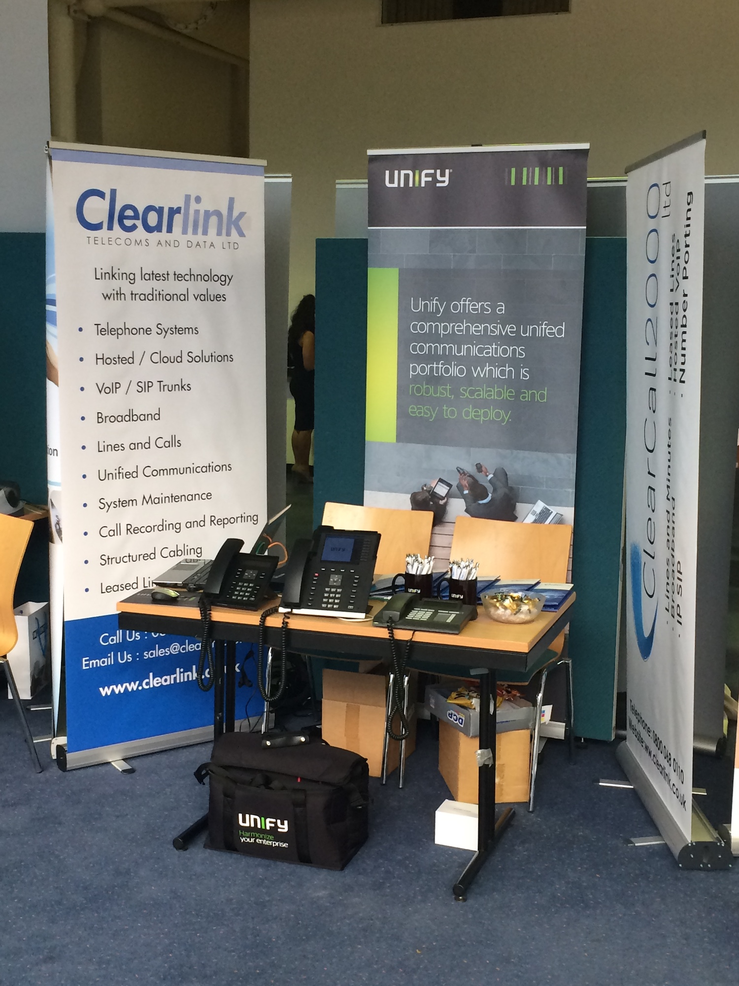 clearlink and unify school phone systems